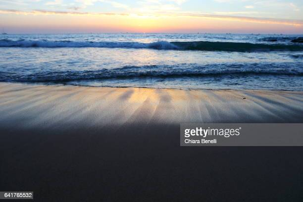 Hossegor_ Atlantic Ocean at sunset
