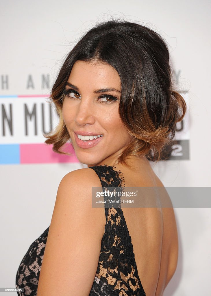 TV host Adrianna Costa attends the 40th American Music Awards held at Nokia Theatre L.A. Live on November 18, 2012 in Los Angeles, California.