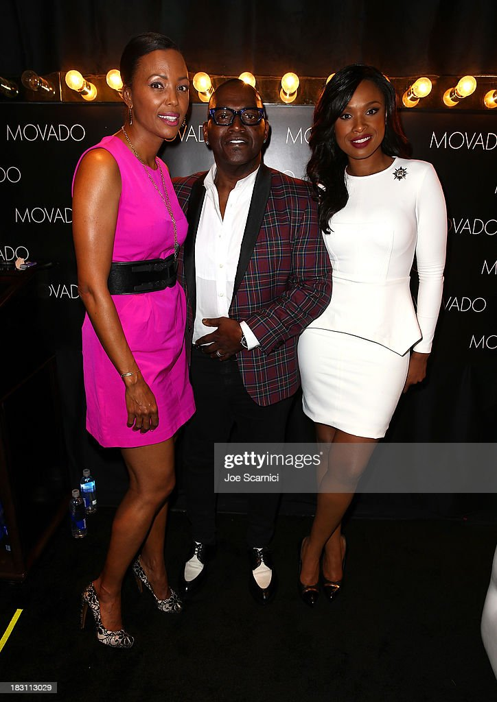 Host <a gi-track='captionPersonalityLinkClicked' href=/galleries/search?phrase=Aisha+Tyler&family=editorial&specificpeople=202262 ng-click='$event.stopPropagation()'>Aisha Tyler</a>, tv personality Randy Jackson and actress-singer <a gi-track='captionPersonalityLinkClicked' href=/galleries/search?phrase=Jennifer+Hudson&family=editorial&specificpeople=234833 ng-click='$event.stopPropagation()'>Jennifer Hudson</a> attend Variety's 5th Annual Power of Women event presented by Lifetime at the Beverly Wilshire Four Seasons Hotel on October 4, 2013 in Beverly Hills, California.