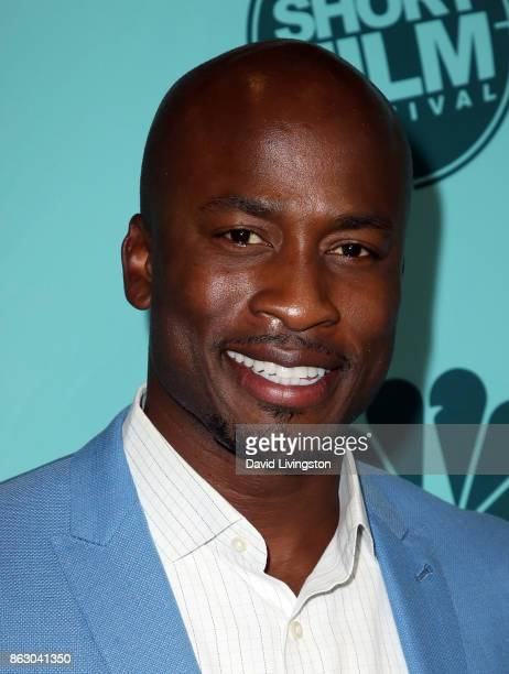 TV host Akbar Gbajabiamila attends the 12th Annual NBCUniversal Short Film Festival finale screening at the Directors Guild of America on October 18...