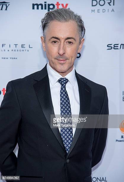 Host Alan Cummings attends the 2016 International Emmy Awards at the New York Hilton on November 21 2016 in New York City