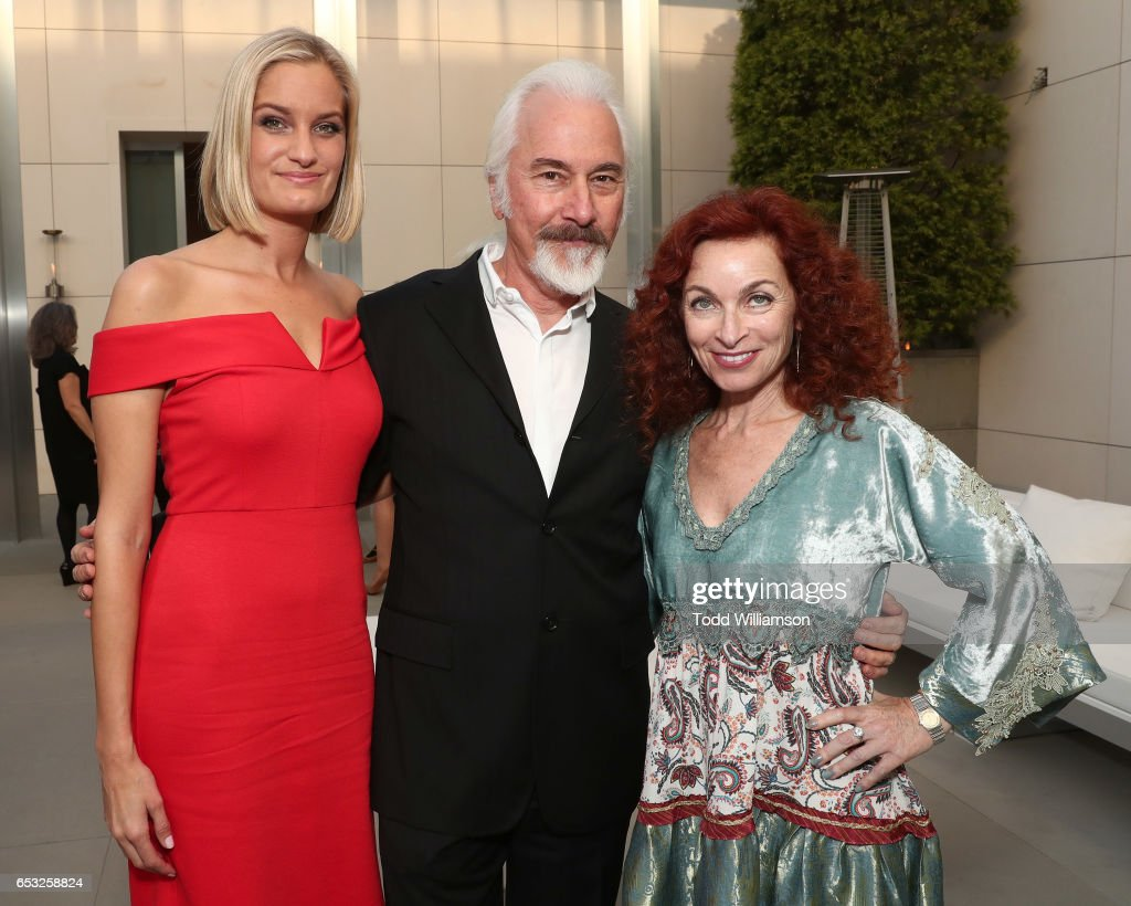 Host Alexandria Jackson, Rick Baker and Silvia Abascal attend the UCLA Institute Of The Environment And Sustainability Celebrates Innovators For A Healthy Planet on March 13, 2017 in Beverly Hills, California.
