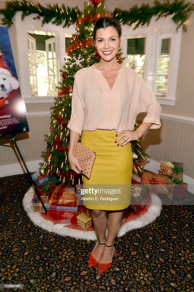 Host <a gi-track='captionPersonalityLinkClicked' href=/galleries/search?phrase=Ali+Landry&family=editorial&specificpeople=543155 ng-click='$event.stopPropagation()'>Ali Landry</a> attends the 'Santa Paws 2: The Santa Pups' holiday party hosted by Disney, Cheryl Ladd, and <a gi-track='captionPersonalityLinkClicked' href=/galleries/search?phrase=Ali+Landry&family=editorial&specificpeople=543155 ng-click='$event.stopPropagation()'>Ali Landry</a> at The Victorian on November 10, 2012 in Santa Monica, California.