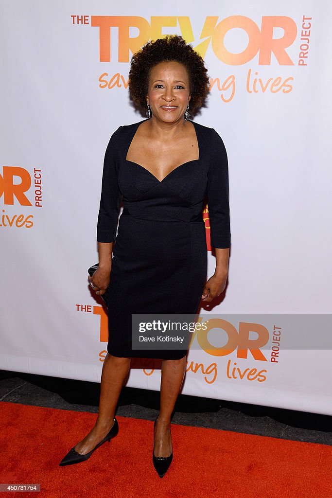 Host and actress, comedian Wanda Sykes attends the Trevor Project's 2014 'TrevorLIVE NY' Event at the Marriott Marquis Hotel on June 16, 2014 in New York City.