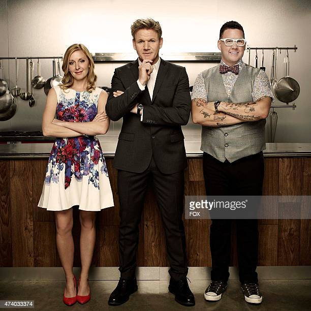 Host and awardwinning chef Gordon Ramsay and acclaimed chef Graham Elliot welcome judge Christina Tosi renowned pastry chef owner and founder of New...