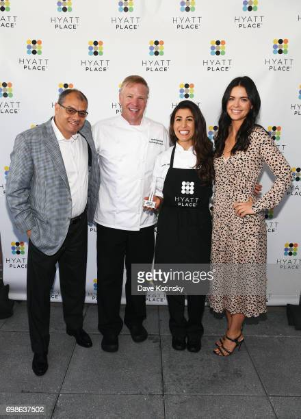 Host and Celebrity Chef Katie Lee launches the new Hyatt Place Build Your Own Breakfast Bowls and Greek Yogurt Parfaits with Hyatt Place...