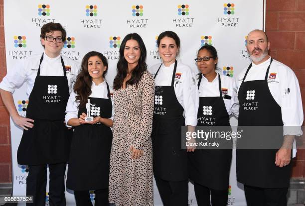 Host and Celebrity Chef Katie Lee launches the new Hyatt Place Build Your Own Breakfast Bowls and Greek Yogurt Parfaits with Institute of Culinary...