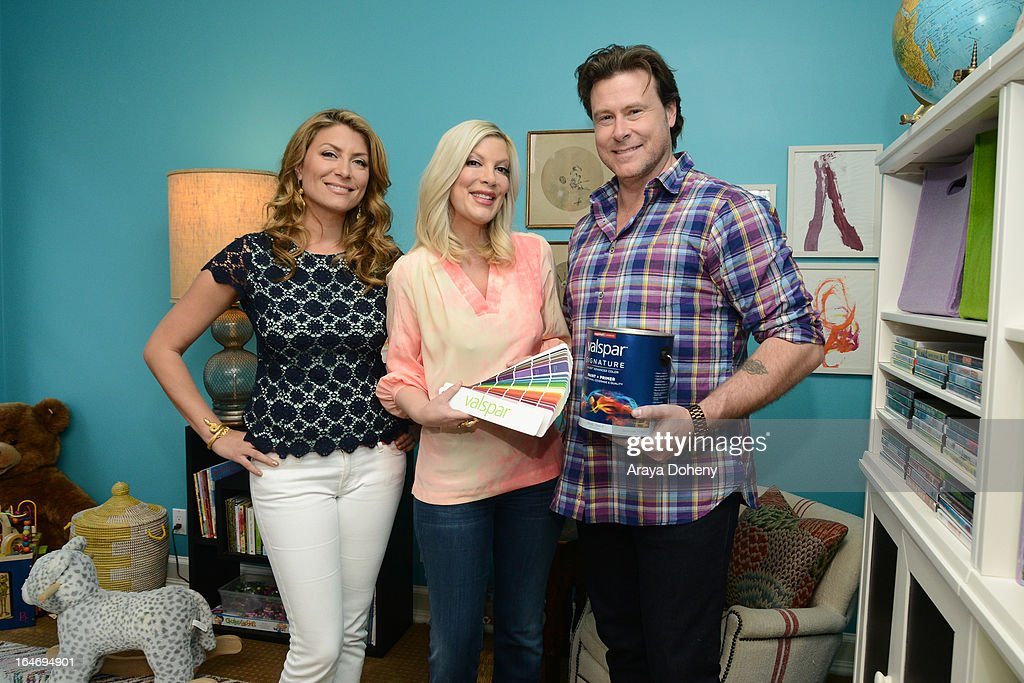 Tori Spelling and Dean McDermott Join Valspar Paint To Launch The Valspar Color Project Video Series Benefitting Habitat For Humanity