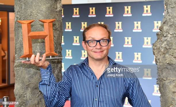 Host and juror Wigald Boning attends the HISTORY Award 2017 ceremony by TV channel HISTORY at Deutsches Museum on June 20 2017 in Munich Germany