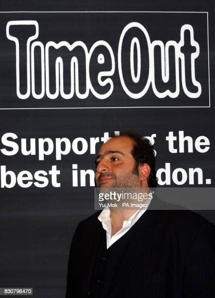 Host and last year's Time Out Best Stand Up Awardwinner Omid Djalili during the the Time Out Live Awards at Strictly Hush in London's Mayfair * The...