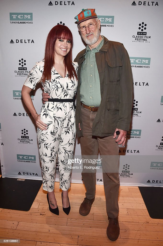 TV host and reporter Alicia Malone (L) and actor <a gi-track='captionPersonalityLinkClicked' href=/galleries/search?phrase=James+Cromwell&family=editorial&specificpeople=211295 ng-click='$event.stopPropagation()'>James Cromwell</a> attend 'Lassie Come Home' during day 2 of the TCM Classic Film Festival 2016 on April 29, 2016 in Los Angeles, California. 25826_006