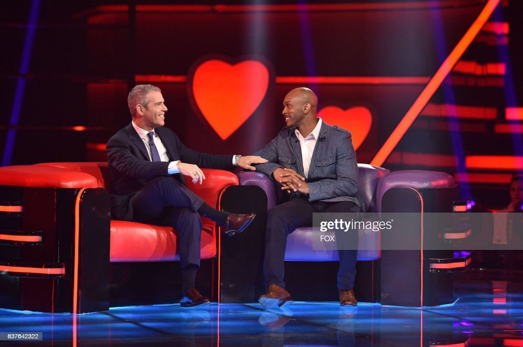 Host Andy Cohen and Single Cherese Brown in LOVE CONNECTION airing Thursday, June 22 (9:00-10:00 PM ET/PT) on FOX.