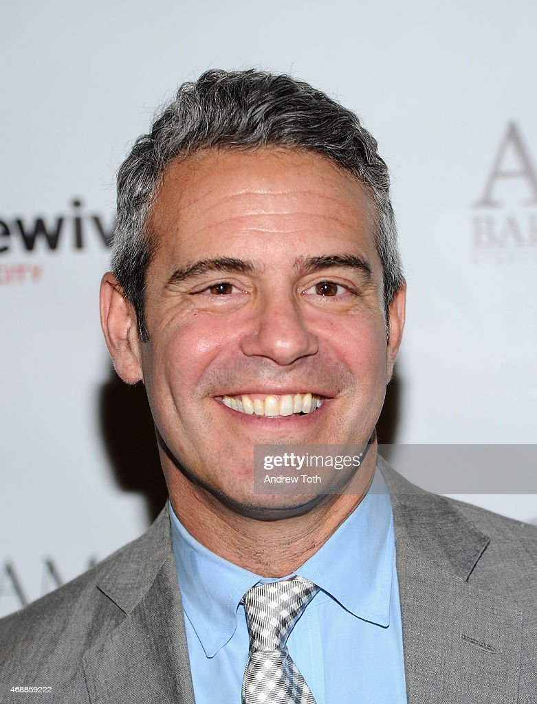 Host Andy Cohen attends the 'Real Housewives of New York City' season 7 series viewing party at AOA Bar Grill on April 7 2015 in New York City