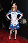 Host Anna Chlumsky attends the 30th Annual Lucille Lortel Awards at NYU Skirball Center on May 10 2015 in New York City