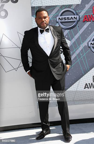 Host Anthony Anderson attends the 2016 BET Awards at the Microsoft Theater on June 26 2016 in Los Angeles California