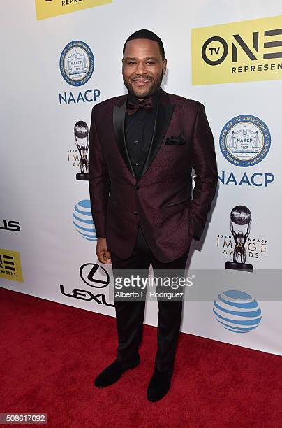 Host Anthony Anderson attends the 47th NAACP Image Awards presented by TV One at Pasadena Civic Auditorium on February 5 2016 in Pasadena California