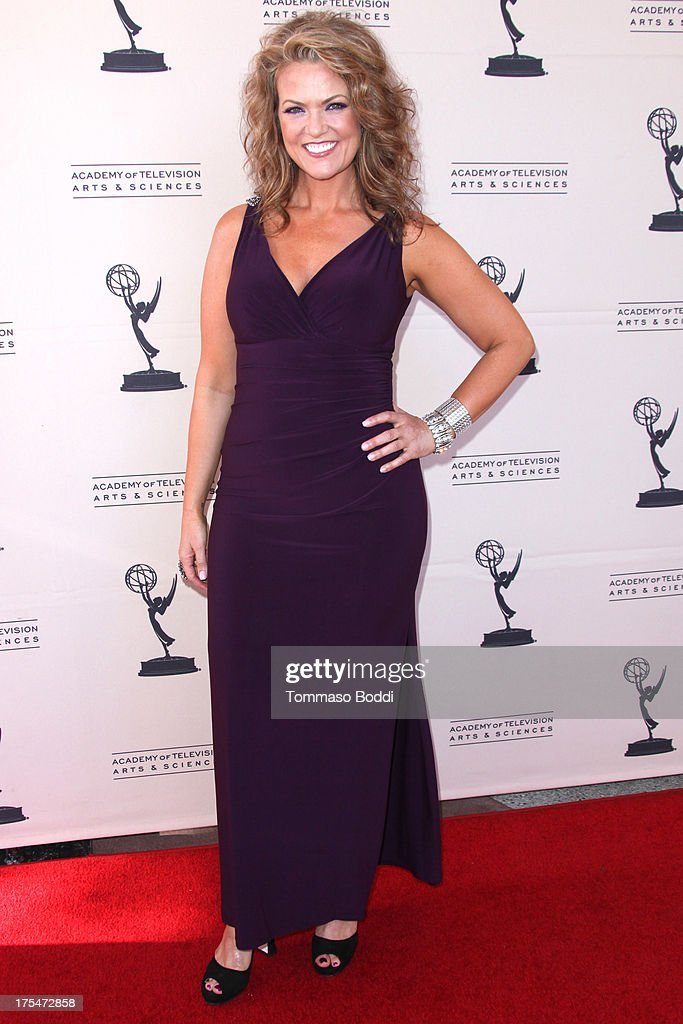 Host Arriane Alexander attends the Academy Of Television Arts & Sciences 65th Los Angeles Area EMMY Awards held at the Leonard H. Goldenson Theatre on August 3, 2013 in North Hollywood, California.