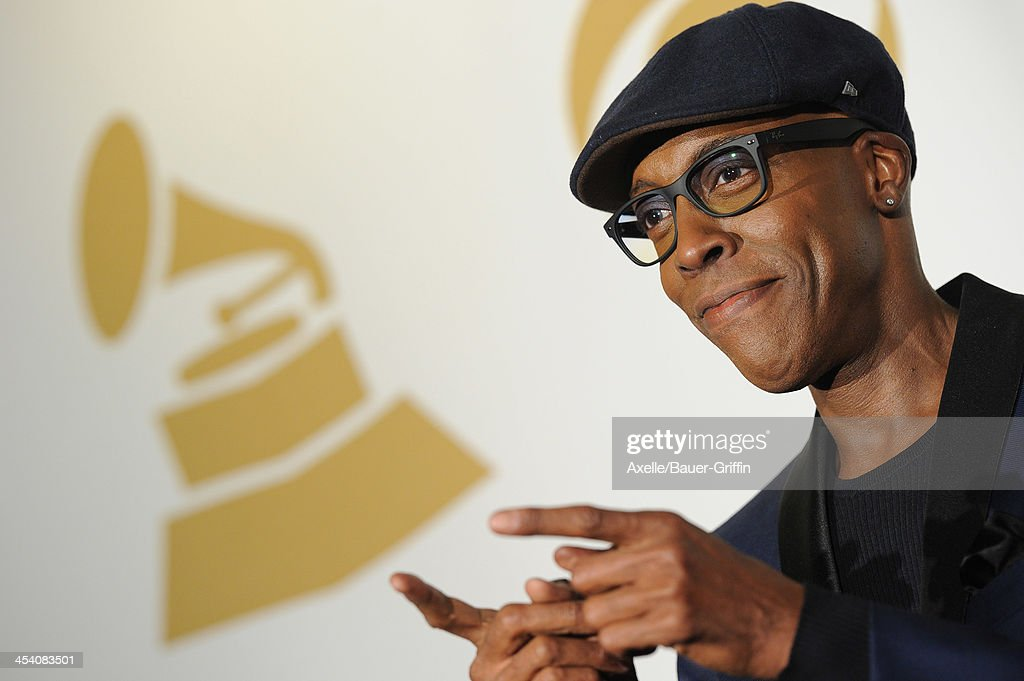 TV host Arsenio Hall poses in the press room at The GRAMMY Nominations Concert Live! Countdown To Music's Biggest Night at Nokia Theatre L.A. Live on December 6, 2013 in Los Angeles, California.