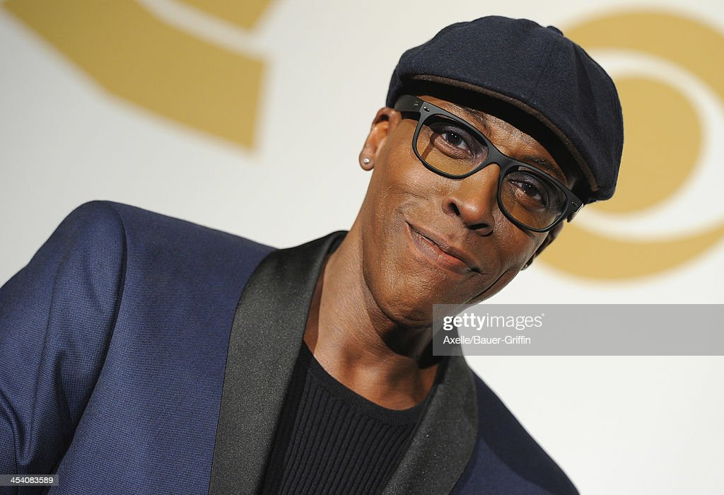 TV host <a gi-track='captionPersonalityLinkClicked' href=/galleries/search?phrase=Arsenio+Hall&family=editorial&specificpeople=211441 ng-click='$event.stopPropagation()'>Arsenio Hall</a> poses in the press room at The GRAMMY Nominations Concert Live! Countdown To Music's Biggest Night at Nokia Theatre L.A. Live on December 6, 2013 in Los Angeles, California.