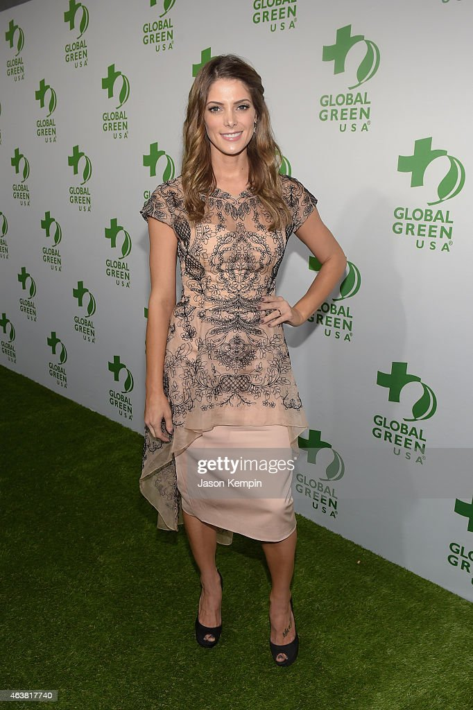 Host <a gi-track='captionPersonalityLinkClicked' href=/galleries/search?phrase=Ashley+Greene&family=editorial&specificpeople=781552 ng-click='$event.stopPropagation()'>Ashley Greene</a> attends Global Green USA's 12th annual pre-Oscar party at AVALON Hollywood on February 18, 2015 in Hollywood, California.