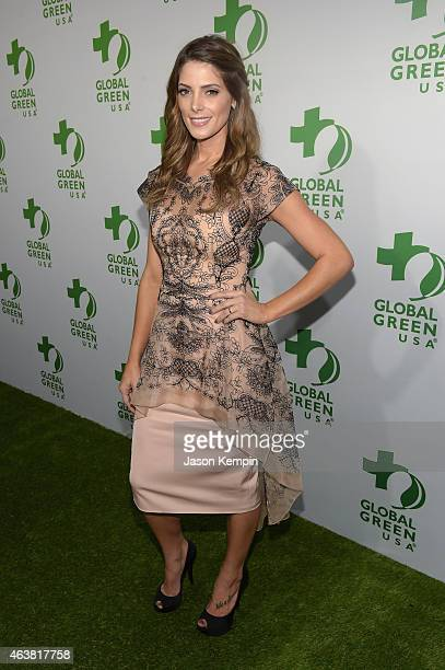 Host Ashley Greene attends Global Green USA's 12th annual preOscar party at AVALON Hollywood on February 18 2015 in Hollywood California