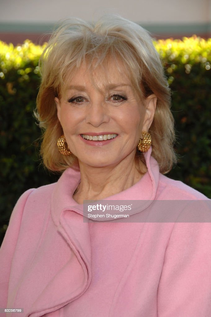 TV Host Barbara Walters attends the 2008 Disney Legends Ceremony at the Walt Disney Studios on October 13, 2008 in Burbank, California.
