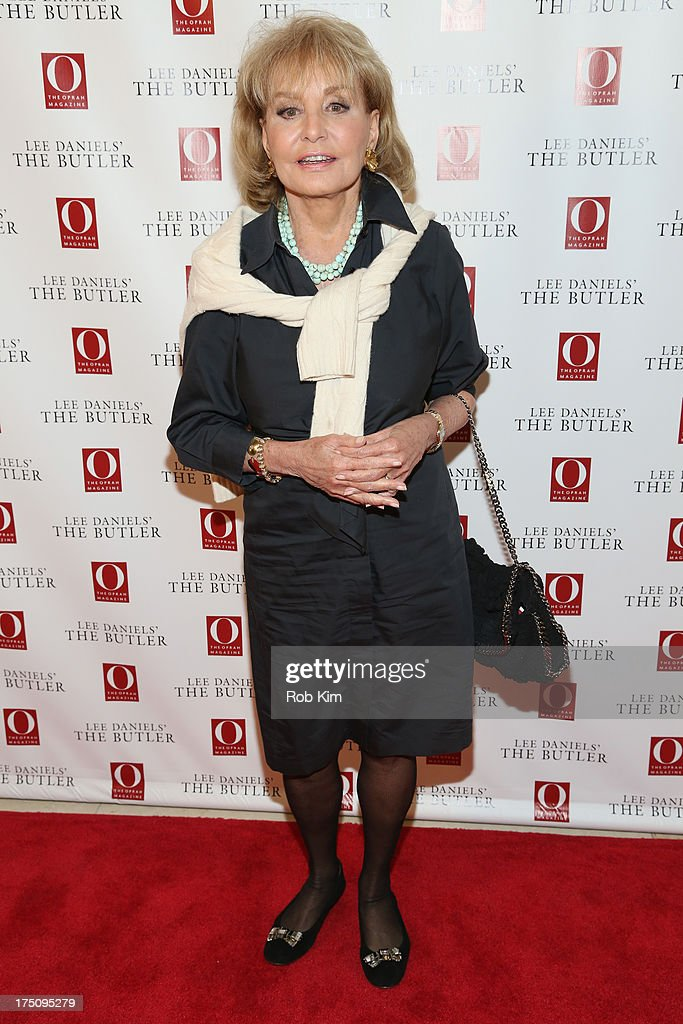Host Barbara Walters attends the O, The Oprah Magazine's special advance screening of 'Lee Daniels' The Butler' at The Hearst Tower on July 31, 2013 in New York City.