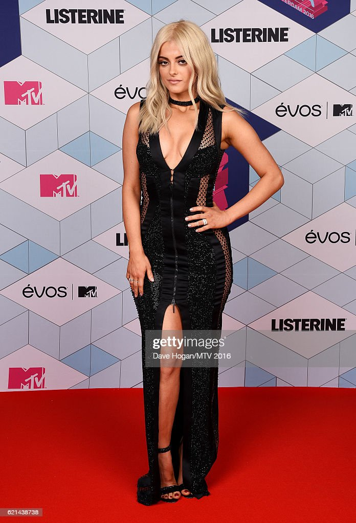 host-bebe-rexha-attends-the-mtv-europe-music-awards-2016-on-november-picture-id621438738