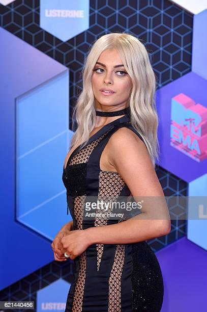 Host Bebe Rexha attends the MTV Europe Music Awards 2016 on November 6 2016 in Rotterdam Netherlands