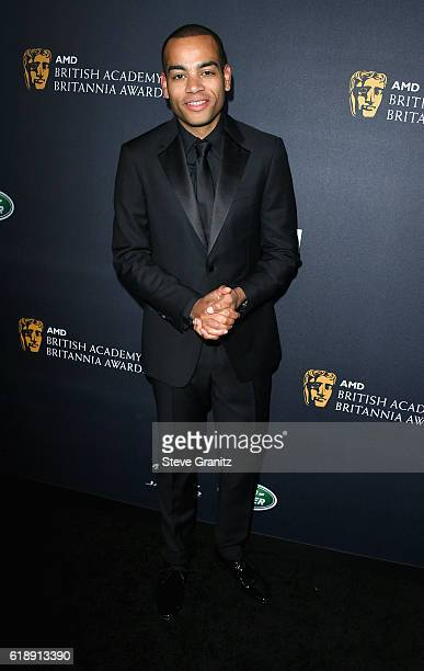 Host Ben 'Doc Brown' Smith attends the 2016 AMD British Academy Britannia Awards presented by Jaguar Land Rover and American Airlines at The Beverly...