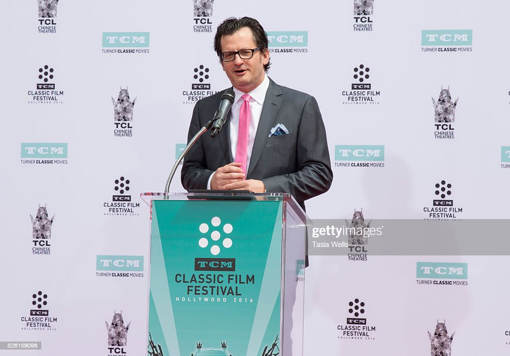 Host <a gi-track='captionPersonalityLinkClicked' href=/galleries/search?phrase=Ben+Mankiewicz&family=editorial&specificpeople=678440 ng-click='$event.stopPropagation()'>Ben Mankiewicz</a> attends TCM Honors Academy Award winning filmmaker Francis Ford Coppola with a Hand and Footprint Ceremony at TCL Chinese Theatre IMAX on April 29, 2016 in Hollywood, California.
