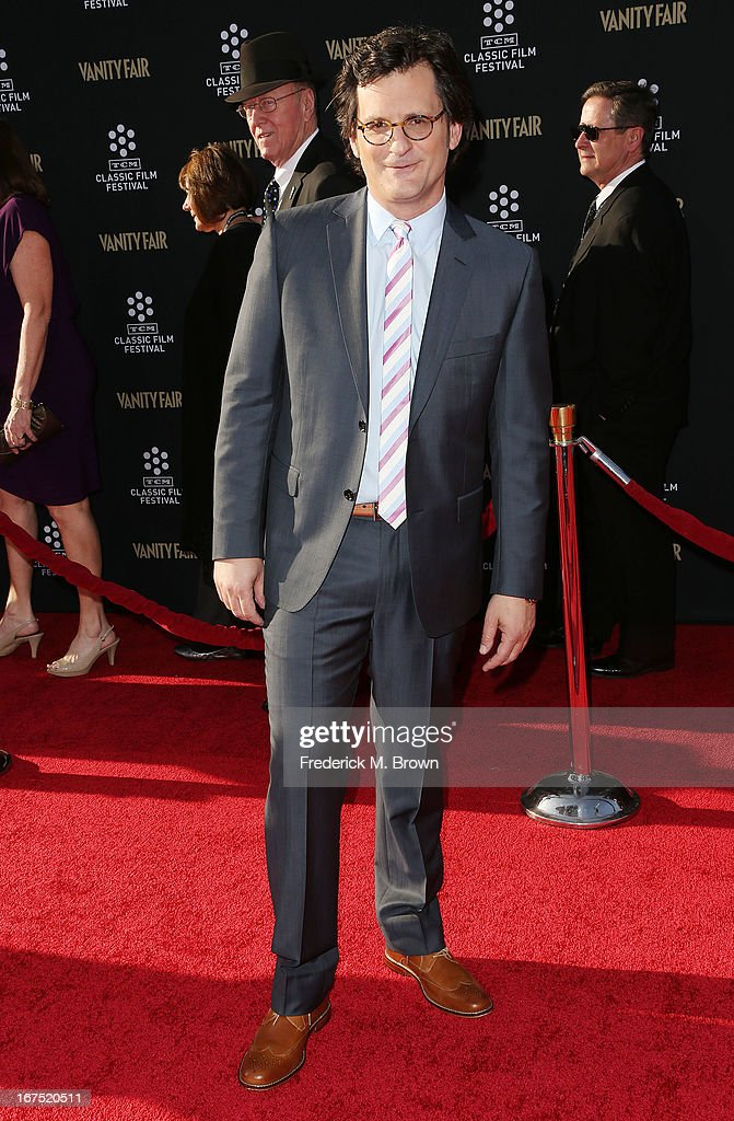 Host <a gi-track='captionPersonalityLinkClicked' href=/galleries/search?phrase=Ben+Mankiewicz&family=editorial&specificpeople=678440 ng-click='$event.stopPropagation()'>Ben Mankiewicz</a> attends the 2013 TCM Classic Film Festival Opening Night Gala screening of 'Funny Girl' at the TCL Chinese Theatre on April 25, 2013 in Hollywood, California.