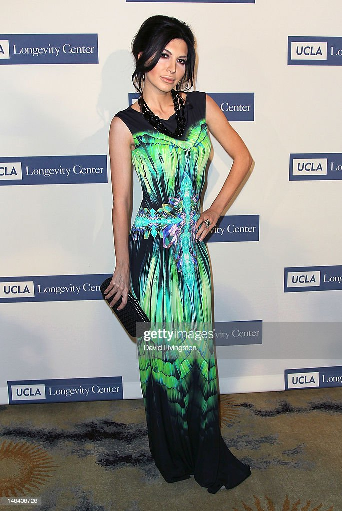TV host Beril Akcay attends the UCLA Longevity Center's 2012 ICON Awards at the Beverly Hills Hotel on June 6, 2012 in Beverly Hills, California.