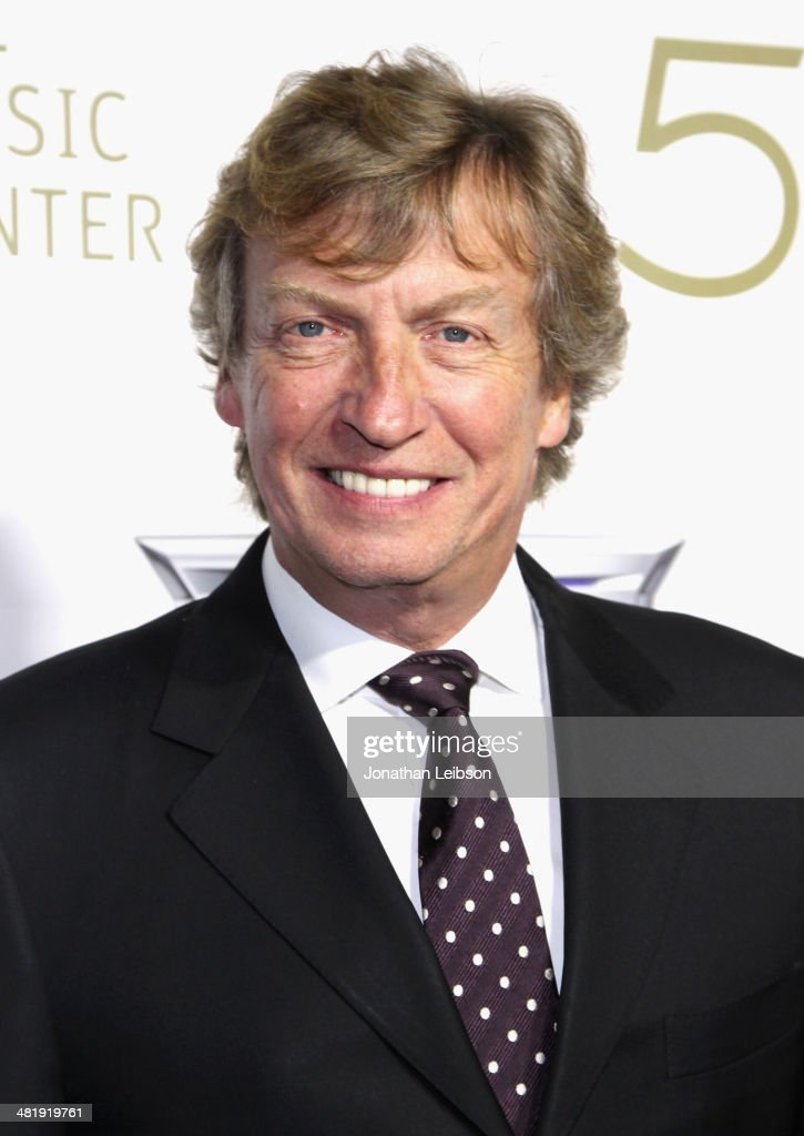 Host/ Board member <a gi-track='captionPersonalityLinkClicked' href=/galleries/search?phrase=Nigel+Lythgoe&family=editorial&specificpeople=736462 ng-click='$event.stopPropagation()'>Nigel Lythgoe</a> arrives at The Music Center's 50th Anniversary Launch Party held at The Dorothy Chandler Pavilion on April 1, 2014 in Los Angeles, California.