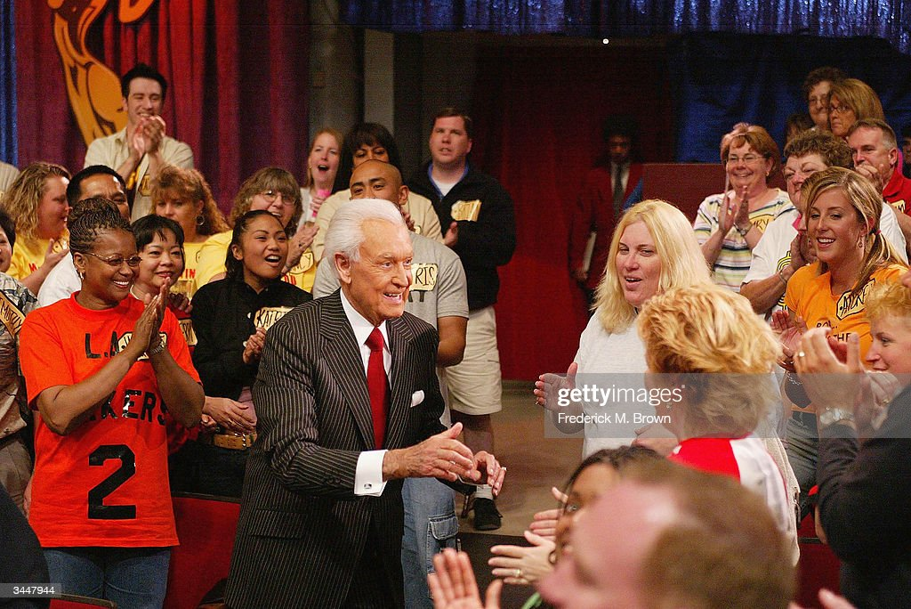 Host Bob Barker presents 'The Price Is Right' million dollar spectacular celebrating host Bob Barker's induction into the Academy of Television Arts...