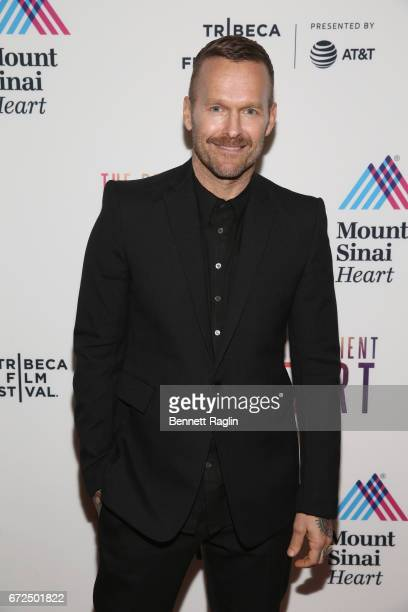 Host Bob Harper during the Tribeca Film Festival premiere for the feature documentary The Resilient Heart at the Tribeca Film Center on April 24 2017...