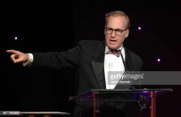 Host Bob Odenkirk speaks onstage at the 64th Annual ACE Eddie Awards at Paramount Studios on February 7 2014 in Hollywood California