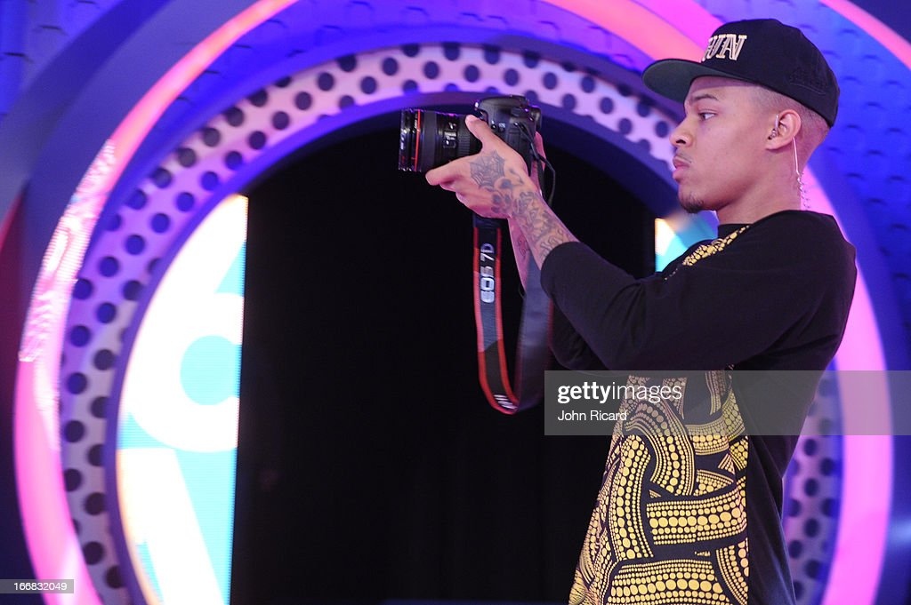 Host Bow Wow at BET's '106 & Park' at BET Studios on April 17, 2013 in New York City.