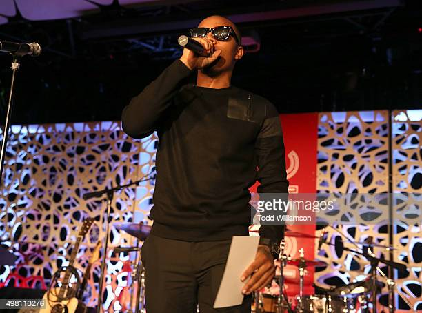 Host Bow Wow speaks at the 2015 American Music Awards Pre Party with CocaCola at the Conga Room on November 20 2015 in Los Angeles California