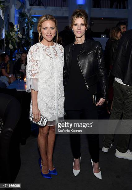 Host Brittany Snow and ELLE EditorinChief Robbie Myers attend the 6th annual ELLE Women In Music celebration presented By eBay Hosted by Robbie Myers...