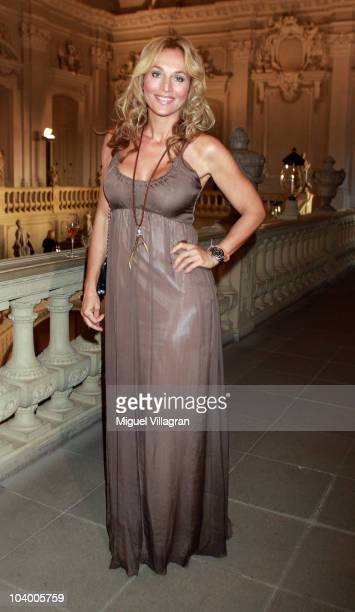 TV host Caroline Beil attends the Minx Fashion Menue 2010 on September 11 2010 in Wuerzburg Germany
