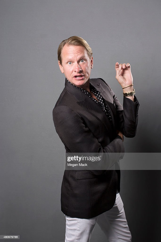 TV host Carson Kressley poses for a portrait at the Logo TV's 'Trailblazers' at the Cathedral of St John the Divine on June 25 2015 in New York City