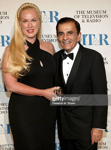 Host Casey Kasem and his wife Jean attend the Museum of Television Radio Gala on September 29 2002 in Beverly Hills California Actor Ted Danson and...