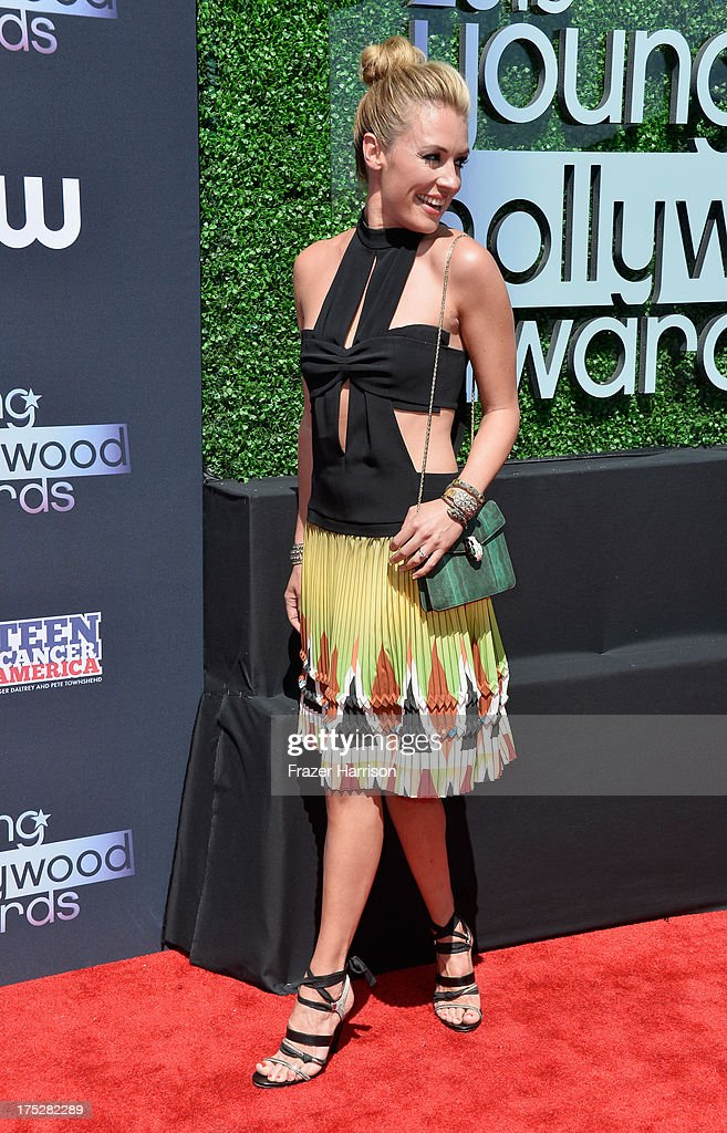 TV host Cat Deeley attends CW Network's 2013 2013 Young Hollywood Awards presented by Crest 3D White and SodaStream held at The Broad Stage on August 1, 2013 in Santa Monica, California.