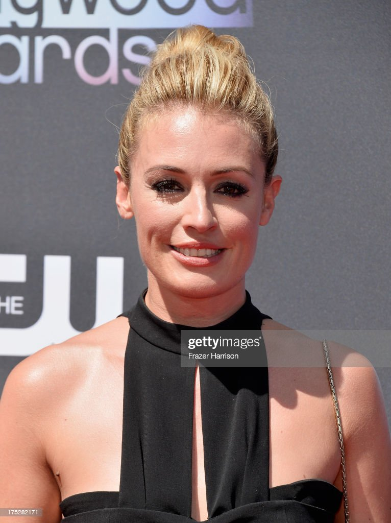 TV host <a gi-track='captionPersonalityLinkClicked' href=/galleries/search?phrase=Cat+Deeley&family=editorial&specificpeople=202554 ng-click='$event.stopPropagation()'>Cat Deeley</a> attends CW Network's 2013 Young Hollywood Awards presented by Crest 3D White and SodaStream held at The Broad Stage on August 1, 2013 in Santa Monica, California.