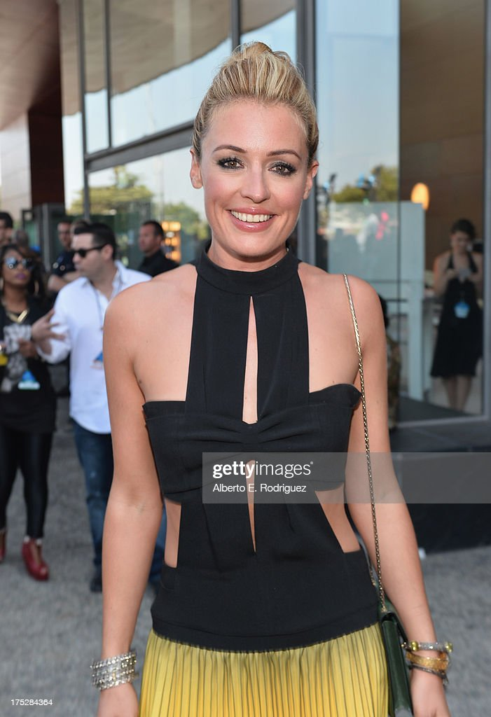 TV host Cat Deeley attends CW Network's 2013 Young Hollywood Awards presented by Crest 3D White and SodaStream held at The Broad Stage on August 1, 2013 in Santa Monica, California.