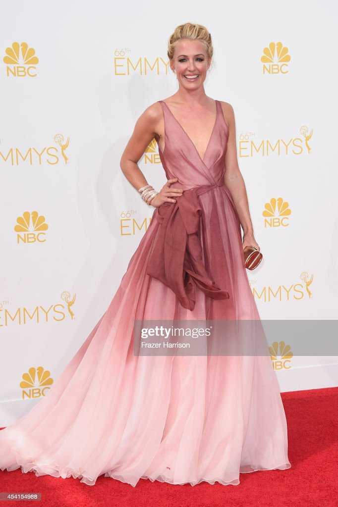TV host Cat Deeley attends the 66th Annual Primetime Emmy Awards held at Nokia Theatre LA Live on August 25 2014 in Los Angeles California