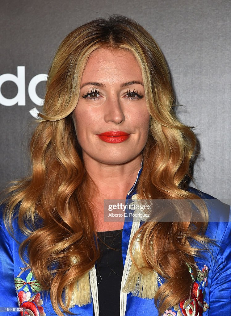 TV host Cat Deeley attends the Samsung Galaxy S6 Edge Plus and Note 5 Launch party on August 18, 2015 in West Hollywood, California.