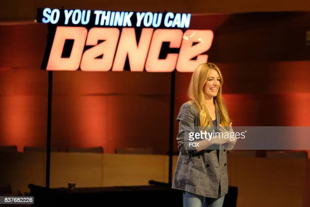 Host Cat Deeley during academy week airing Monday July 24 on FOX