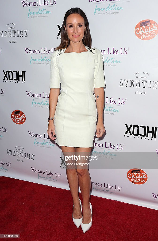TV host <a gi-track='captionPersonalityLinkClicked' href=/galleries/search?phrase=Catt+Sadler&family=editorial&specificpeople=754401 ng-click='$event.stopPropagation()'>Catt Sadler</a> attends the One Girl At A Time fundraiser at Aventine Hollywood on July 30, 2013 in Hollywood, California.